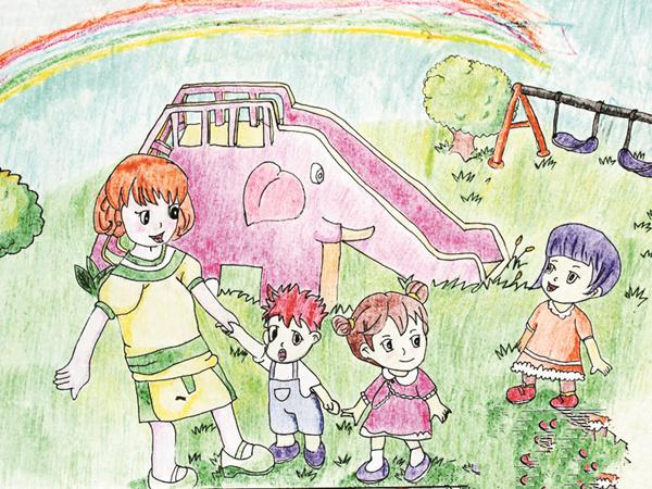 《快乐幼儿园》